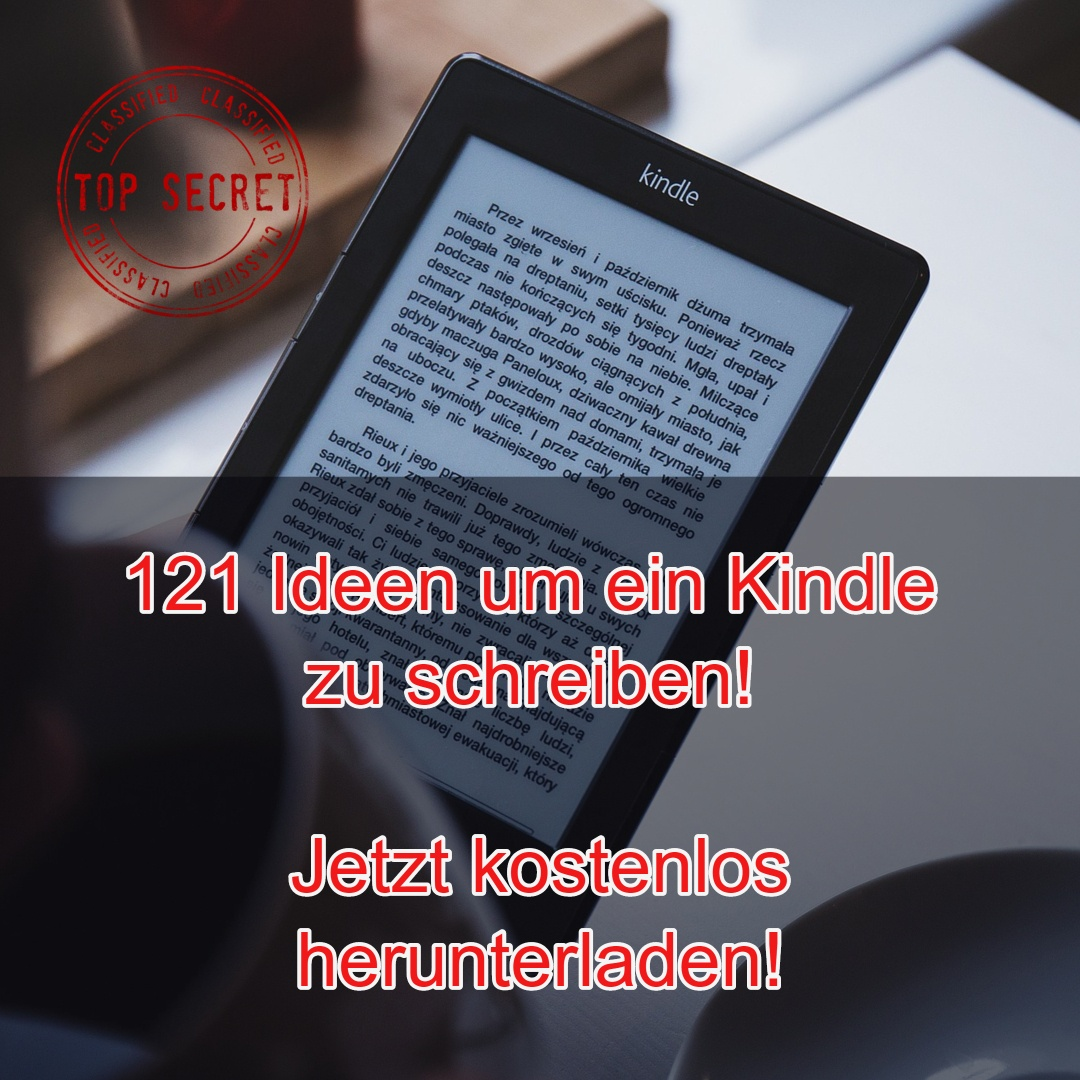 121 Ideen für Dein Kindle-Business