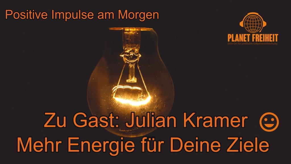 Julian Kramer Mehr Energie für deine Ziele