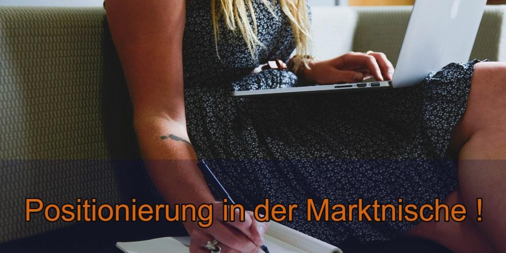 Positionierung in der Marktnische
